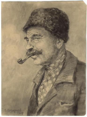 024- Siberia- Emigrante de la nueva rusia- Boris Smirnov 1904