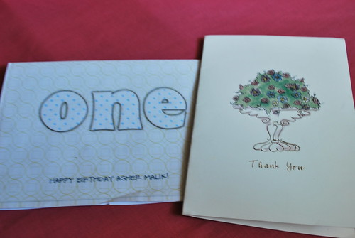 Asher's Birthday Card from the Bebots.