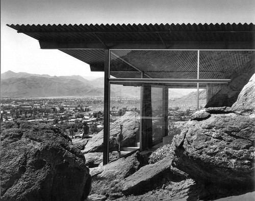 Frey House, photo by Julius Shulman