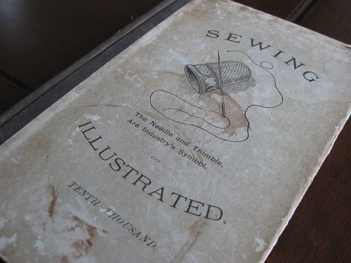 old sewing book