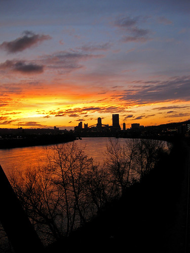 pittsburgh sunset