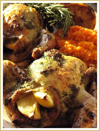 Pesto Roasted Chicken