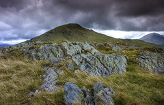 Wales, Snowdonia: Mountain Formations (Tim Blessed) Tags: uk sky nature wales clouds landscapes countryside scenery snowdonianationalpark singlerawtonemapped