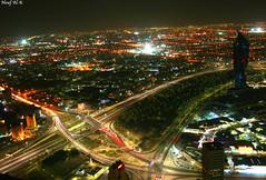 lights challenges the Darkness ( Explore ) (Nouf Alkhamees) Tags: night shot kuwait alk nono   alkuwait     nouf       alkhamees noufalkhamees