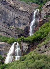 Bridal Veil Falls (artistgal) Tags: water utah waterfall falls waterfalls bridalveilfalls provocanyon gamewinner herowinner pregamewinner