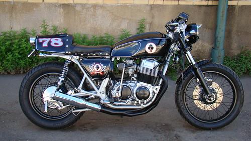 78 Honda cb750k Cafe Racer