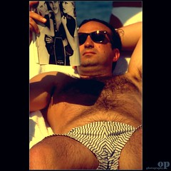 Forbidden Desires (Osvaldo_Zoom) Tags: summer beach advertising glasses triangle tan forbidden heat desires rayban fantasies lovetriangle nenephoto