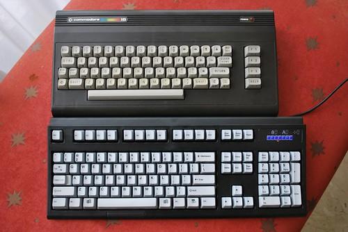 My Unicomp versus my Commodore 16