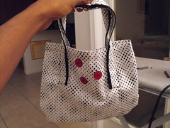 First Singer Sewing Projects - Button Tote