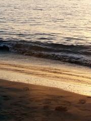 Sunset (lujzildi) Tags: sunset water meer cyprus greece zypern mywinners meereswellen