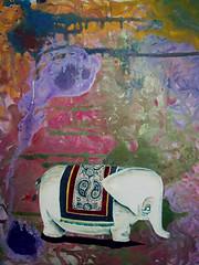 Ele-fante. Fanteador! (Fbio Albertini) Tags: elephant color colors cores colores ele elefante paquiderme