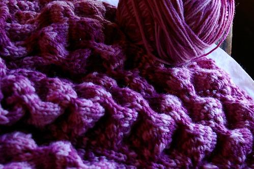 shawl wip