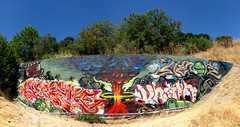 Awoke, Antes, Vastr, Menor (Rebirth Cycle) Tags: graffiti eastbay stm antes menor woke awoke vastr vaster