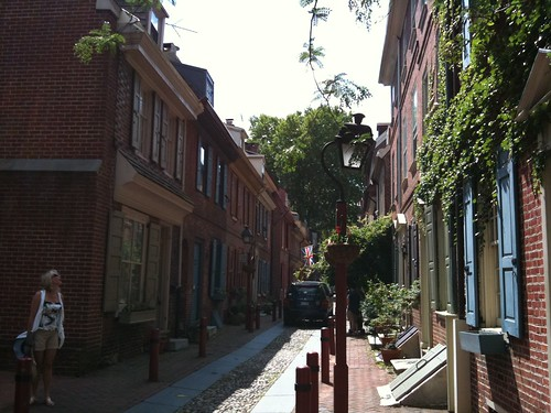 National Register of Historical Places - Elfreth's Alley