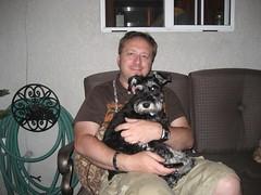 Tim & Truman. (07/11/2009)