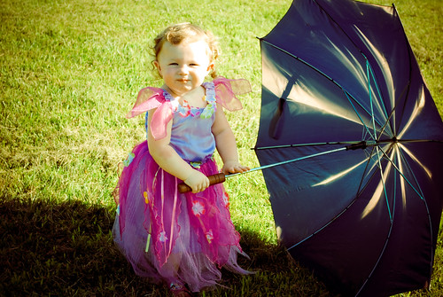 Emmy With Umbrella