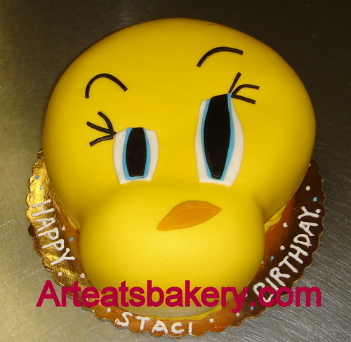 Tweety bird fondant birthday