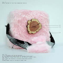 t05 (Operating System) Tags: wood pink blue fiction tree clock electric fur stars lights costume log furry shiny time box space experiment cubicle device science system cube scifi trunk outerspace universe cosmos infinite enso pinkfur timeimmersioncubicle