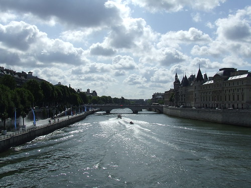 The Seine from Pont Neuf