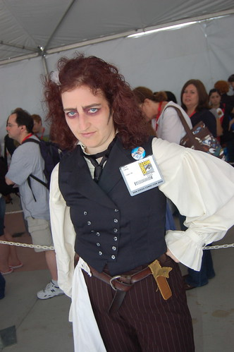 Comic Con 09: Sweeney Todd