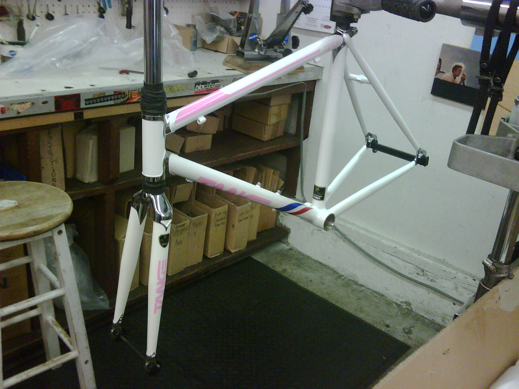 Tange mini road bike frame