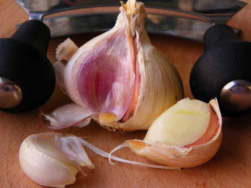 Pink Garlic - Food For The Gods