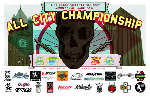 2009 All City Championship Final Poster