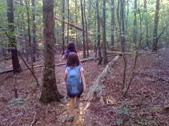 16 - The Girls Hiking