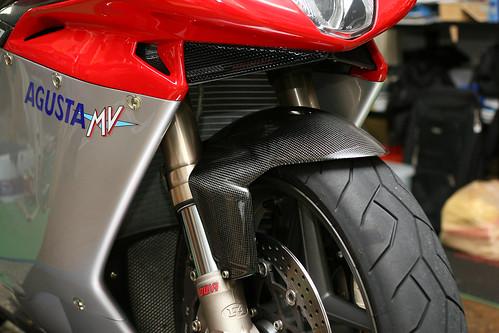 カーボン フロント フェンダー for MV アグスタ F4