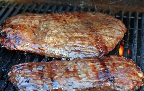 flank steak grilling