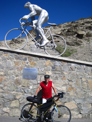 The Tourmalet - conquered in one piece this time (and in much better weather)