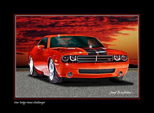 New Dodge Hemi Challenger (by MidnightOil1)