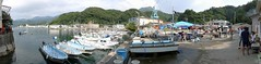 (Froschmann : ) Tags: panorama japan port diving scubadiving shizuoka izu     tago   lx3  divingspot