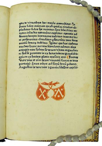Printer's device in Augustinus, Aurelius [pseudo-]: De cognitione verae vitae