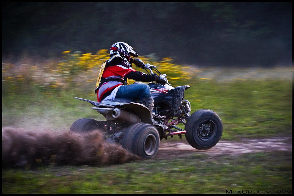 Fast Yamaha Fourwheeler