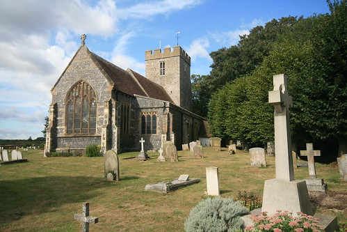 The Church of St Andrew, Wickhambreaux