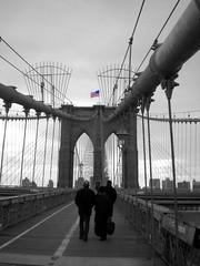 Brooklyn Bridge (**soniatravel**) Tags: nyc newyorkcity bridge usa newyork brooklyn america nikon unitedstates manhattan flag coolpix bigapple drapeau bandiera statiuniti etatsunis s210