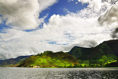 You speak to me in sign languange (Sayid Budhi) Tags: mountains green nature beautiful cloudy bluesky laketoba northsumatra danautoba tongging sumatrautara bukitbarisan pegunungan kabupatenkaro taotoba pegununganbukitbarisan