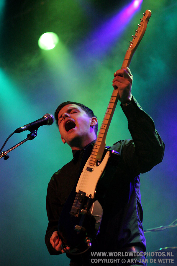 Scott Rinning - The Cinematics, Patronaat 2009