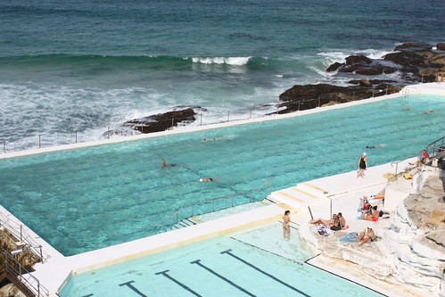 Rockpool at Bondi Beach, Sydney