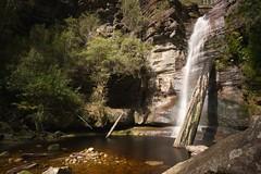 Snug Falls (bcshort) Tags: longexposure landscape waterfall tasmania hobart snug bw110 snugfalls snught