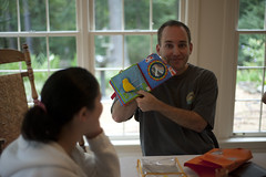 Paul Reads Baby Rabbit's Book