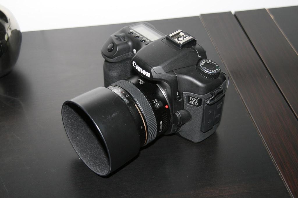 Canon 40D gauche