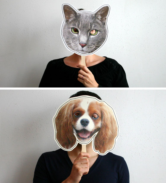 Grant Design: cat and dog masks