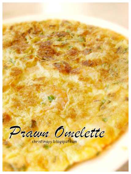 Home-Cooking: Prawn Omelette