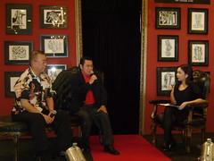 Dr. Chua, Mr. Cid and Jocas talking about Ang Kiukok