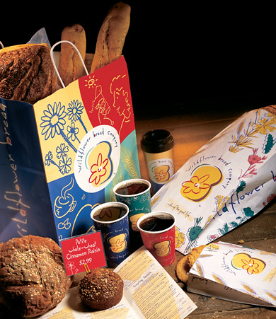 Package Design - Wildflower Bread Company