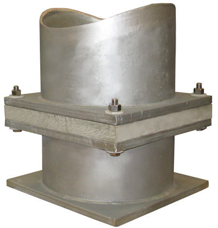 Pre-Insulated Base Supports for a LNG Plant
