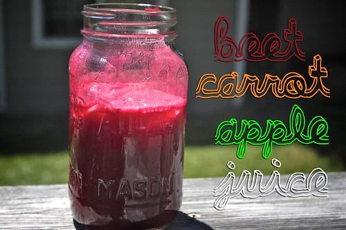 today's juice!
