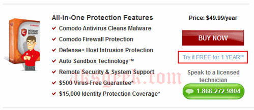 Comodo Internet Security pro 2011